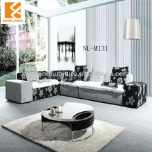Foshan Newland furniture factory combination sofa modern corner fabric sofa furniture (NL-M131)