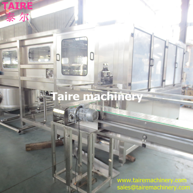 Taire Best price bottle washing filling capping machine for 5 gallon 1200bph