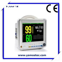 8 Inch Color TFT Display Patient Monitor Electronic Medical Equipment with Factory Price