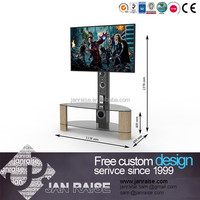 Alibaba china supplier glass led/lcd tv stand
