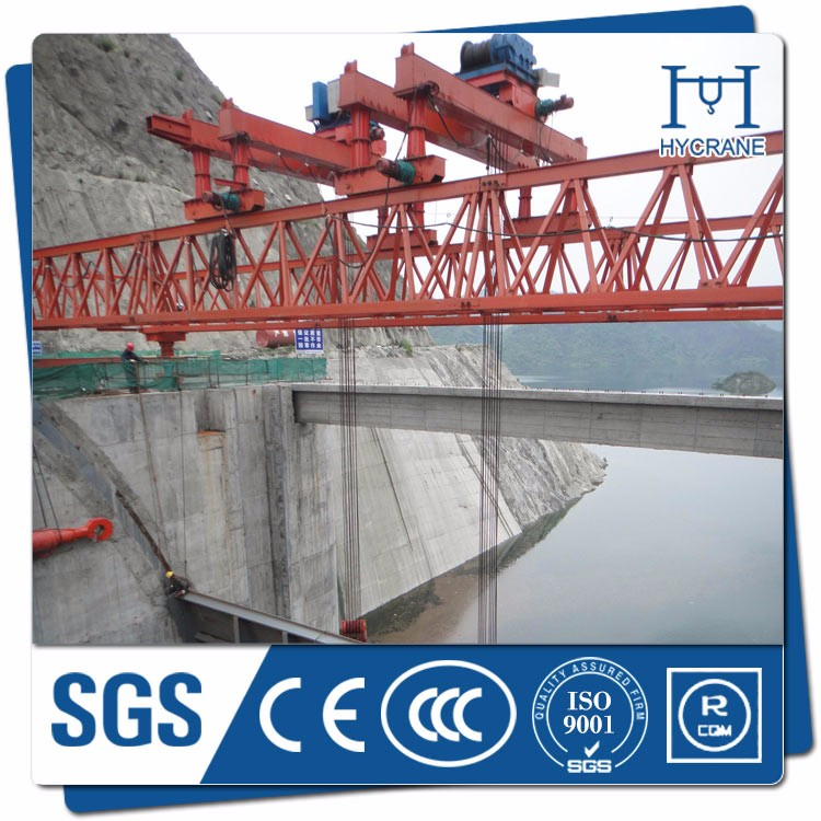 high speed railway bridge launching girder crane