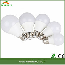 9w high quality e26 b22 e22 led bulb light pc cover taiwan epistar chip with 3years warranty