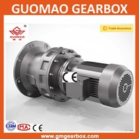 Cycloidal pin wheel power transmission gearbox