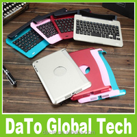 Bluetooth Keyboard With Removable Magnetic Aluminum Case For iPad Mini 3 2 1