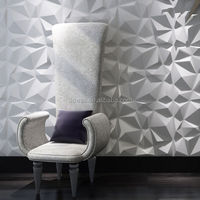 3d plant fiber wall panel hotel partition 3d for home decoration