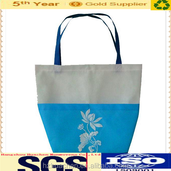 Hot sale pp non-woven tote shopping bags with high quality for old people