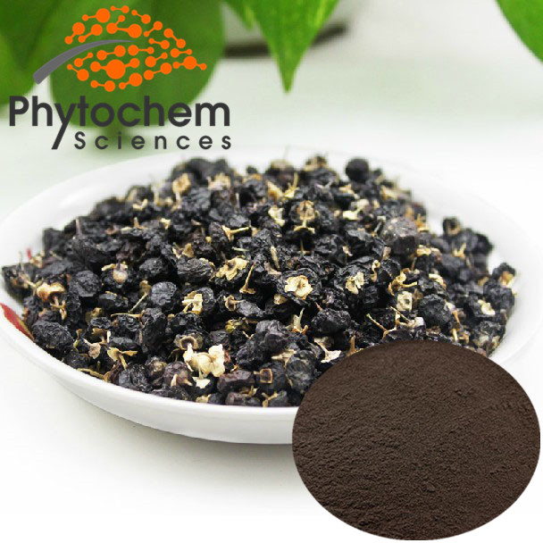 Natural Nutritious Black Wolfberry/Goji Berry Extract Powder