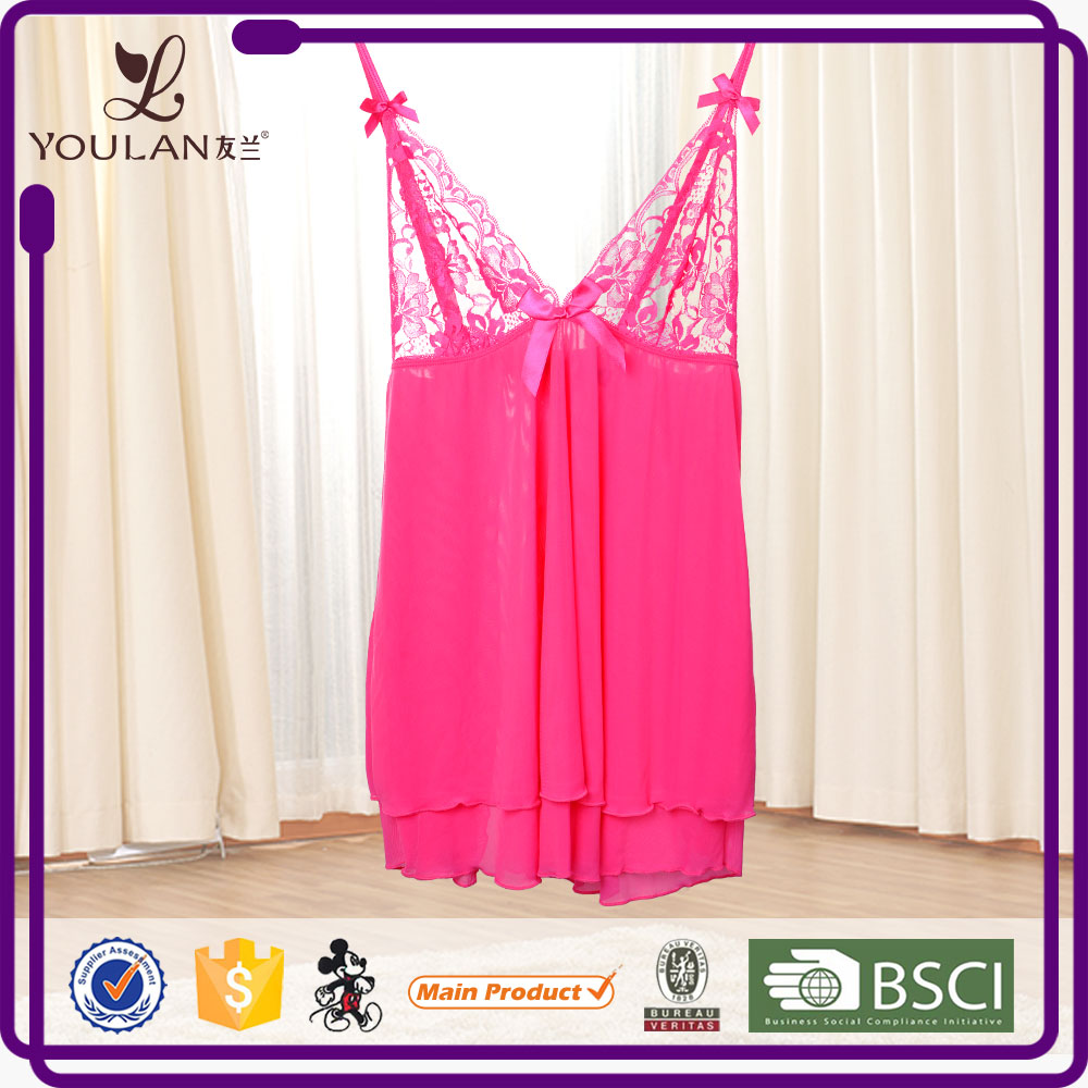 New Arrival Sexy Chest Transparent Sexy Lingerie For Teen Girls Sex Lingerie