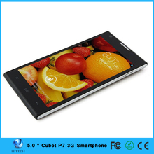 Cubot P7 Mobile Smart phone 5.0inch MTK6582M Quad Core 1.3Ghz mobile phone android 4.2