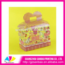 Candy packing transparent plastic printed box chocolate box