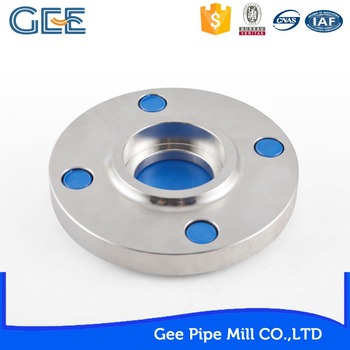 GEE Good reputation standard stainless steel pipe flange