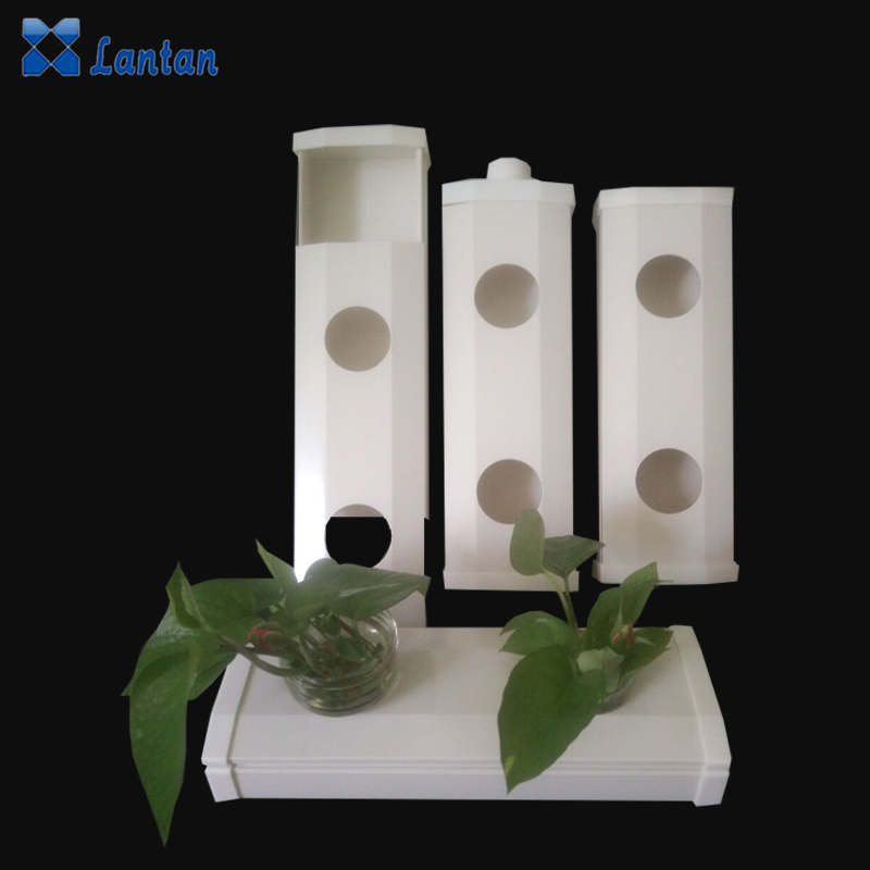 PVC materials Agricultural hydroponic nft system planting growing vegetables