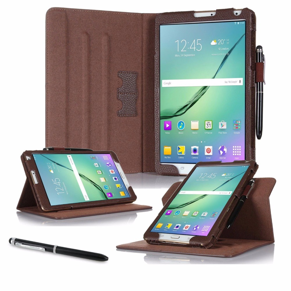 Brown air 1 high quality leather case for ipad