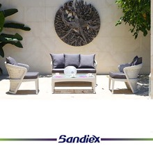 Sandiex 2017 <strong>modern</strong> style Patio home apartment dining balcony rattan sofa furniture with cushion