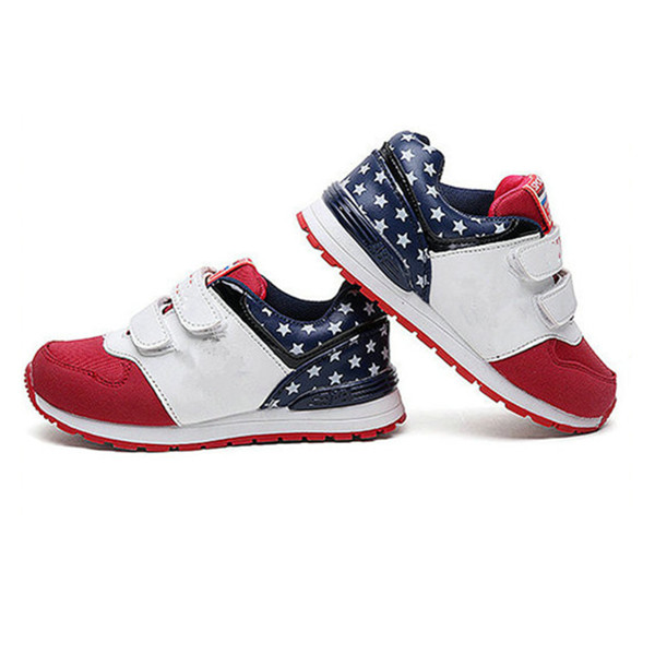 Beautiful lucky star children shoes boys