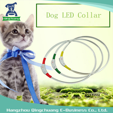 USB Rechargeable TPU Pet Supplies Collars Dog LED