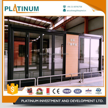Factory wholesale residential hinged design aluminum casement door