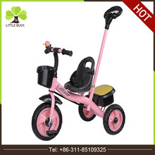 Push Stroller tricycle for kids 1-6 years / cheap children tricycle with tailer / Manufacturer new baby tricycle china