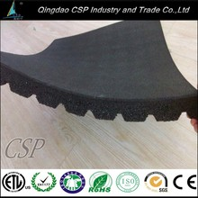 high quality 15mm thick rubber crossfit gym flooring