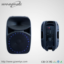 "Hot Sale Led Light 15"" Rechargable Loud Speaker"
