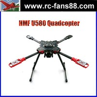 FPV HMF U580 4-Axle Umbrella Folding Quadcopter Frame Kit with Landing Gear