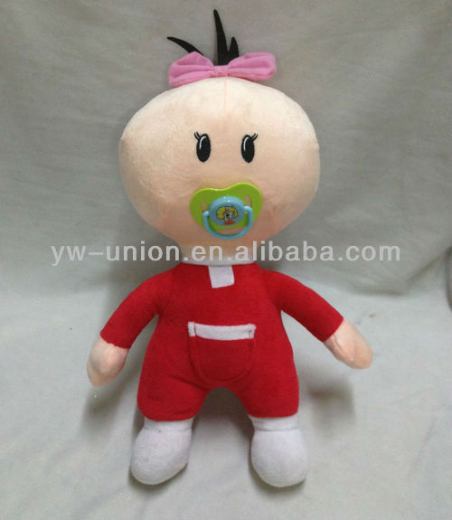 Turkey Hot-sale Stuffed Soft Plush Cartoon Red Bebe