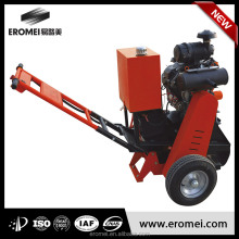 asphalt concrete pavement crack grooving machinery