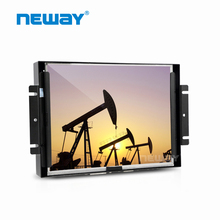 12 Inch Open Frame LCD Monitor 4-Wire Resistive Touchscreen Wall Mount
