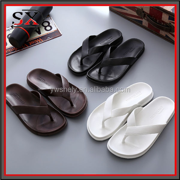 2017 New style flip flop slipper women men slide rubber shoes sandal