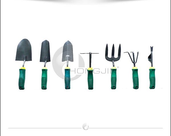 Hongjin 7Pcs Multi-functional Gardening Trowel Tools Set