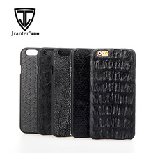 Cheap Genuine Crocodile Leather Cell Phone Case, Wholesale Phone Case Custom Design