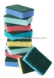 2017 New Design net multi color bath sponge