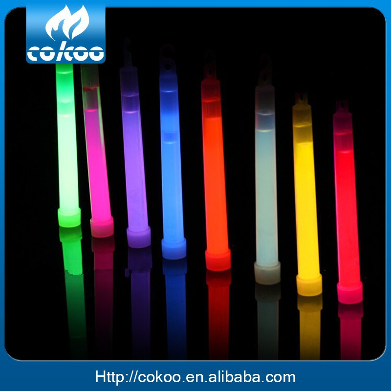 2015 high quality fashion party led liquid chemical fluorescent glow light stick camping lights