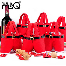 Wholesale Christmas Decorations Candy Bag