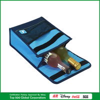 Thermoelectric Soft Cooler Bags Neoprene Champagne Bottle Cooler Bag