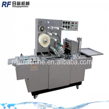 Transparent Film 3d Box Cellophane Wrapping Machine