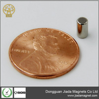 made in China Strong cyclinder N52 permanent neodymium magnet