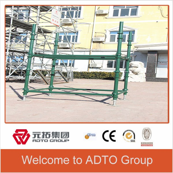 Hot sale in Africa painted scaffolding system cuplock scaffolding system items
