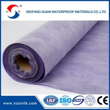 Construction waterproof polythene film/builders' film. damp proof course