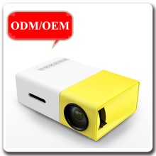 2017 hot selling hindi hd 1080p video mini LED projector with built-in speaker