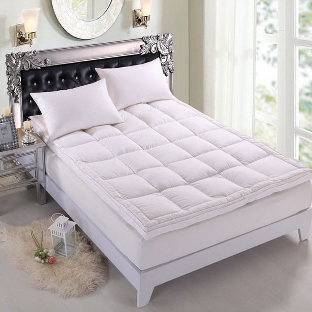 Good Quality Double Layer Goose Feather Filled Mattress Topper - Jozy Mattress | Jozy.net