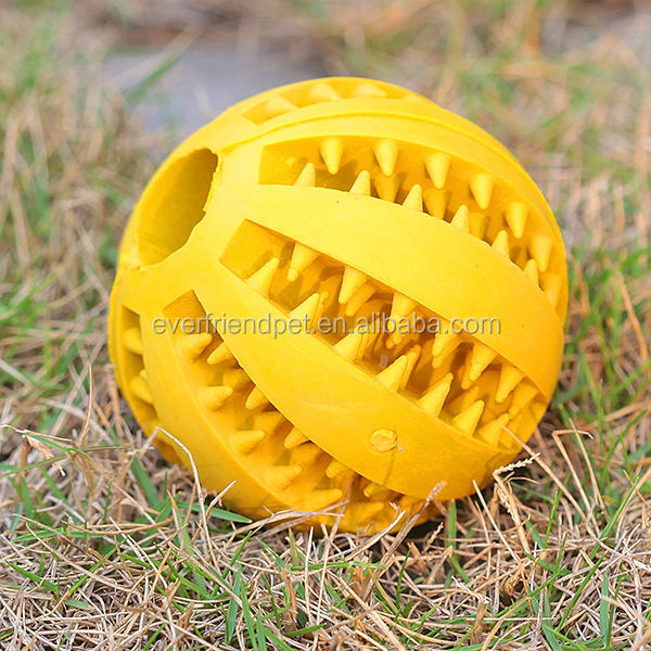 Custom Dog Ball Exercise Jumping Teeth Rubber Ball