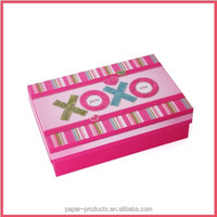 colorful /colored gift paper box for kids/baby