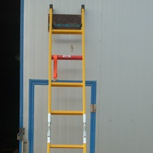 Telescopic light weight FRP Ladder