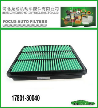 auto air filter 17801-30040 for toyota genuine