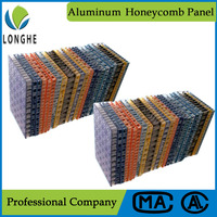 Fiberglass fire resistant honeycomb decoration wall panels