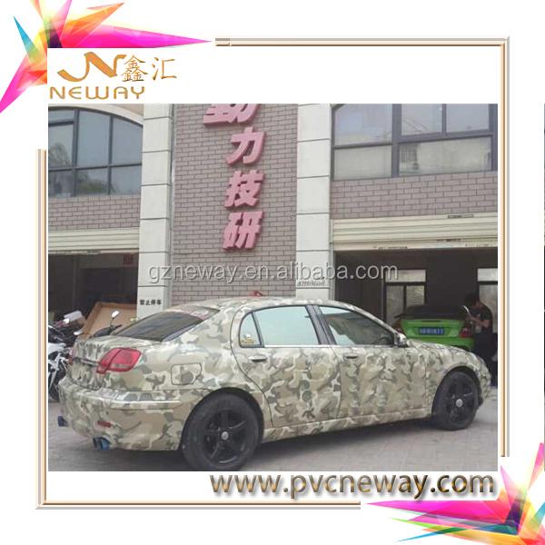camo vinyl wrap/white camouflage car vinyl film
