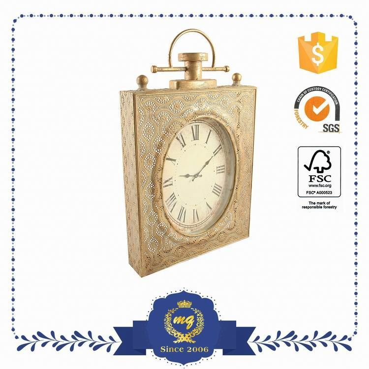 Lightweight Classic Bathroom Wall Clock With Waterproof