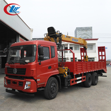DONGFENG 6*4 25ton capacity derrick cargo truck with 5ton crane