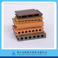 high output speed wpc/pe wood and plastic extrusion moulding/dies